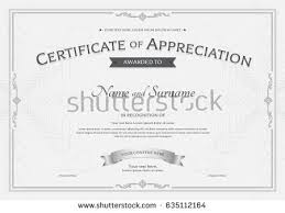 sample text for certificate of appreciation certificate of appreciation stock images royalty free images
