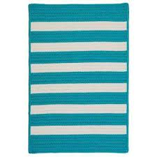 Turquoise Outdoor Rug 7 X 9 Blue Outdoor Rugs Rugs The Home Depot
