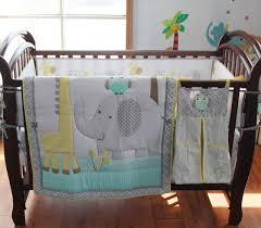 Nursery Bed Set 8 Pc Crib Infant Room Baby Bedroom Set Nursery Bedding Blue