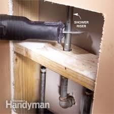 Install A Shower Faucet Shower Faucet Installation Family Handyman