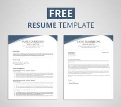 Where Can I Get A Resume Template For Free Free Resume Template For Word U0026 Photoshop Graphicadi