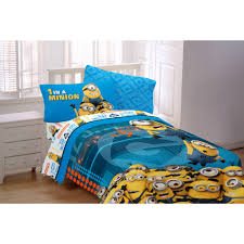 Minecraft Bedding For Kids Despicable Me U0027minions U0027 Bedding Sheet Set Walmart Com