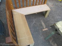 diy kids corner bench banquette my repurposed life