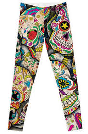 Plus Size Skeleton Leggings Leggings Halloween Sugar Skull Plus Size Unicorn Day Of The Dead