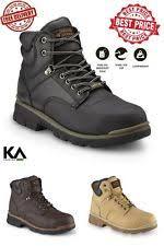 Light Work Boots Texas Steer Work U0026 Safety Boots Men U0027s Slip Resistant Ebay