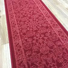 Wide Runner Rug Buy Custom Size Length Fancy Egyptian Print Traditional Persian