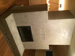 hearth and fireplace postmodern concrete