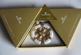 swarovski swarovski 2012 ornament gold scs members