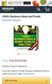 1000 business ideas and funds u0027 app now available in amazon app