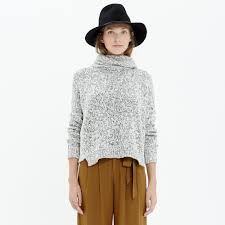 s turtleneck sweater marled turtleneck sweater pullovers madewell