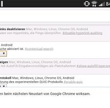 Chrome Flags Android Release 35 Bringt Chrome Updates Unter Der Haube Welt