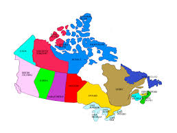 Canada Province Map Ovation Education Services
