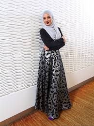 rok panjang muslim lovely fashionable skirts with style hijabiworld