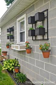 123 best vertical small space garden design with flower pots