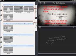 using imovie u0027s trailer templates for business and education