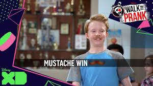 Win Kid Meme - walk the prank video meme mustache win official disney xd