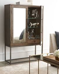 Mirrored Bar Cabinet Margolyn Bar Cabinet