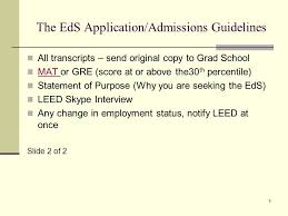east carolina university eds webinar presentation educational