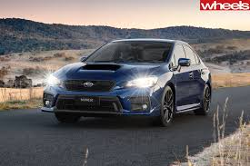 subaru sti 2018 subaru wrx and wrx sti pricing performance gains announced