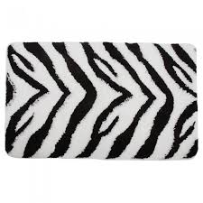Zebra Print Bathroom Rugs Bath Mat Set Home Page Furnishings Bath Mat Set Bath Mat Sets