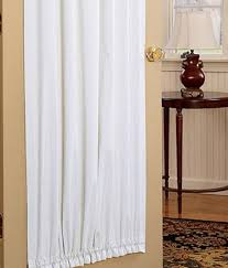 Door Panel Curtains Light Blocking Door Curtains Blackout Door Panel Curtains