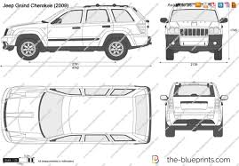 jeep laredo 2009 the blueprints com vector drawing jeep grand cherokee