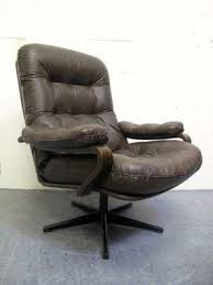 Danish Leather Armchair Brown Leather Armchairs Foter