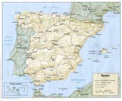 Map Of Spain by Map Of Spain