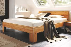 Schlafzimmer Bett Mit Komforth E M U0026h Bett 1020 Kernbuche Massivholz Möbel Letz Ihr Online Shop