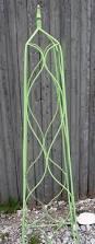 wrought iron square finial flower trellis 7 sizes