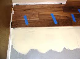 installing hardwood flooring concrete how tos diy