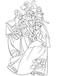 disney princes coloring pages free disney coloring pages ariel free coloring pages disney
