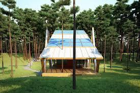 Efficient Home Designs Energy Efficient Grasshopper Shaped House