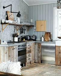 Kitchen Island Wall Modern Rustic Kitchen U2013 Subscribed Me
