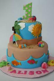 Cake Decorations Beach Theme - summer beach cake beach cakes beach and cake