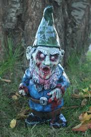 undead garden decor lawn gnome