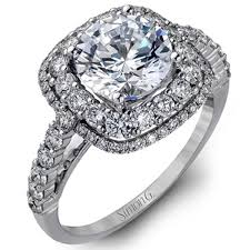 diamond double rings images Simon g 18k double halo split shank diamond engagement rings jpg