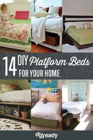 Make Your Own Cheap Platform Bed by Platform Bed With Storage Tutorial Diy Platform Bed Platform