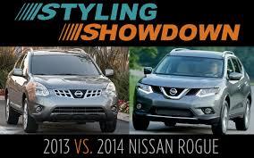 nissan rogue off road 2013 vs 2014 nissan rogue styling showdown truck trend