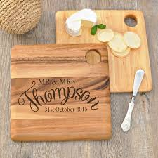 personalised cutting boards personalised engraved wooden cheese serving board set