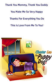chester leo the puppy dog bedtime poster chester leo the puppy