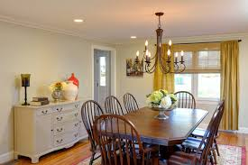 Dining Room Recessed Lighting Traditional Dining Room Remodel Oak Flooring Crown Molding