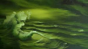 Green Paint by Green Sea Painting Lesson Youtube