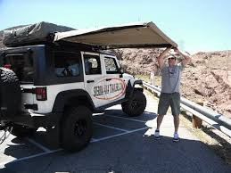 Jeep Wrangler Awning 2007 Jeep Jk 4 Door Freedom Top Plus Hannibal Rack And 1 9m Awning