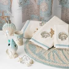 Seashell Bathroom Decor Ideas by Coastal Bathroom Decor Zamp Co