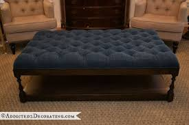 Tufted Coffee Table Diy Tufted Coffee Table Ottoman Hometalk