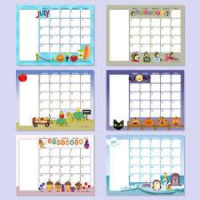 preschool calendar template monthly class newsletters that