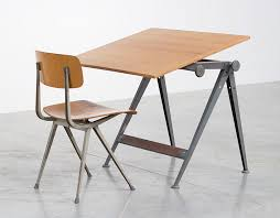 Utrecht Drafting Table Vintage Reply Drafting Table By Wim Rietveld With Result Chair By