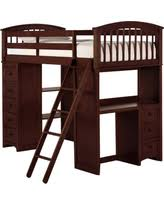 check out these bargains on asher twin size student loft bed