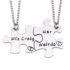 her necklace images Melix home his crazy her weirdo couples necklaces set jpg